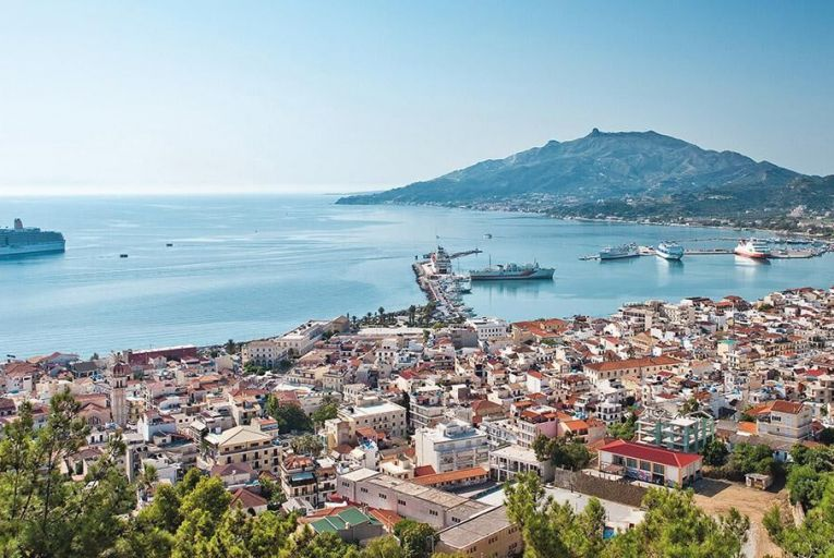 The Greek island of Zakynthos, which the Venetians called the Flower of the Orient