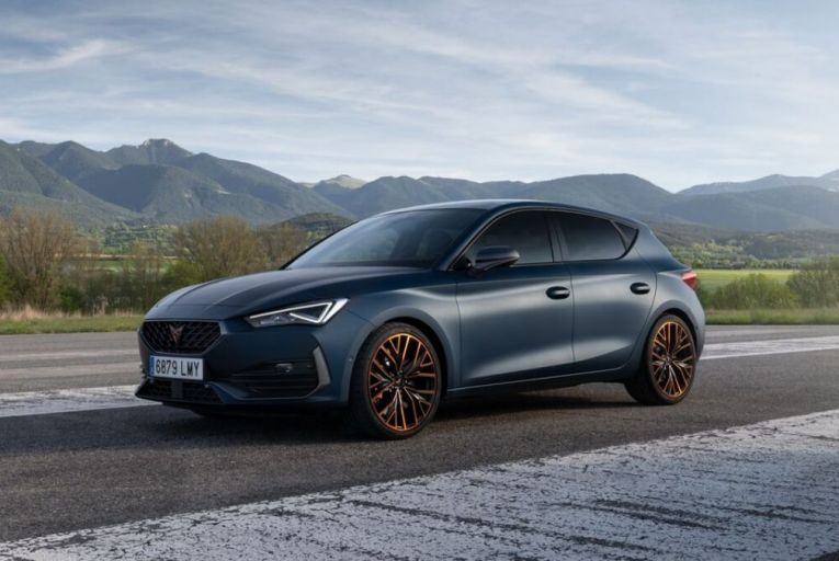The Cupra Leon 300 could become the hot hatch market leader. Picture: Arnaud Taquet
