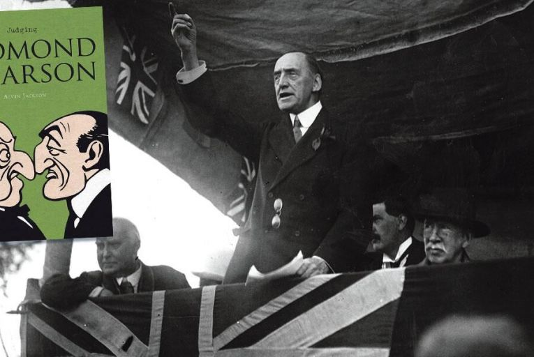 John Redmond  and Edward Carson were the defining figures of Irish politics in the Home Rule era  Pic: Getty