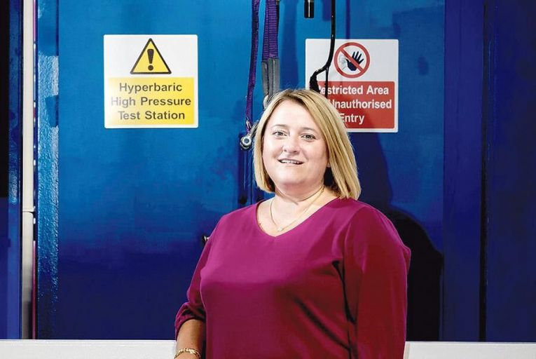 Tory Regan of Baker Hughes:  'The job offered an amazing  chance to lead a  manufacturing site  starting on a significant  growth journey' Picture: Keith Wiseman