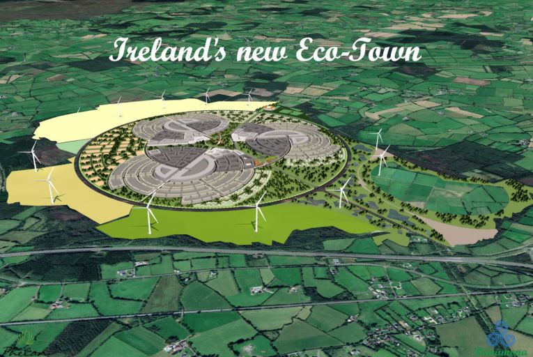 Phelan Energy Group is seeking the government's support for a major new eco-town with 30,000 homes