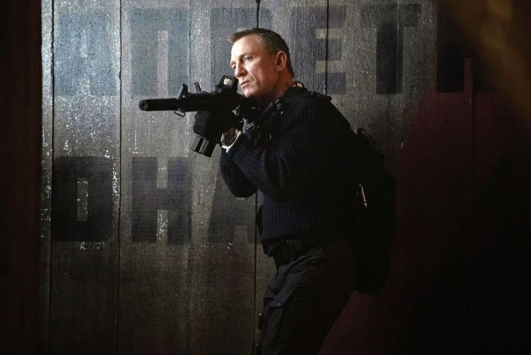 Daniel Craig in his final outing as James Bond in No Time to Die, in cinemas from Thursday