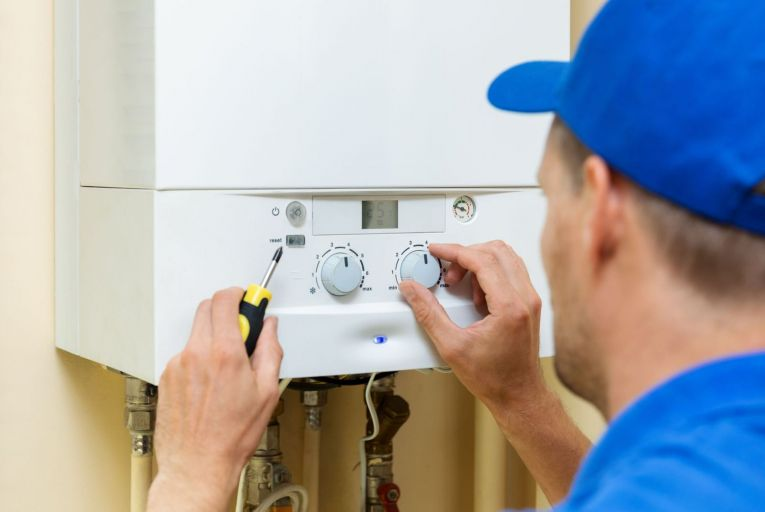 The installation of oil boilers is due to be banned in new homes in 2022 and new gas boilers banned in new homes in 2025, under the climate action plan. Picture: Getty