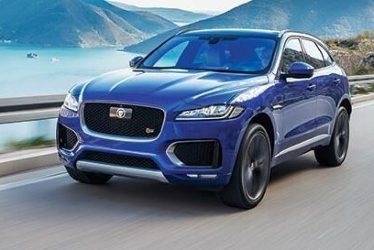 The new Jaguar F-Pace: the carmaker claims it's the most practical sports car it has ever produced
