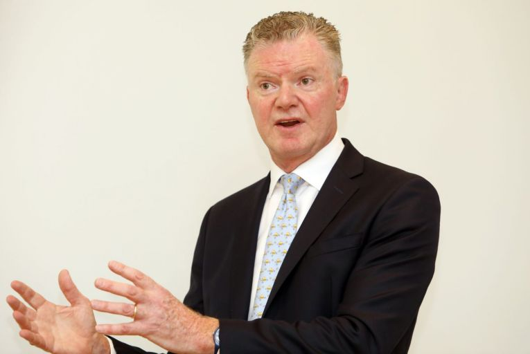 Conor O'Kelly, the chief executive of the NTMA, said the interest bill on government debt continues to decline despite increased borrowing to pay for the cost of the pandemic. Picture: Rollingnews.ie
