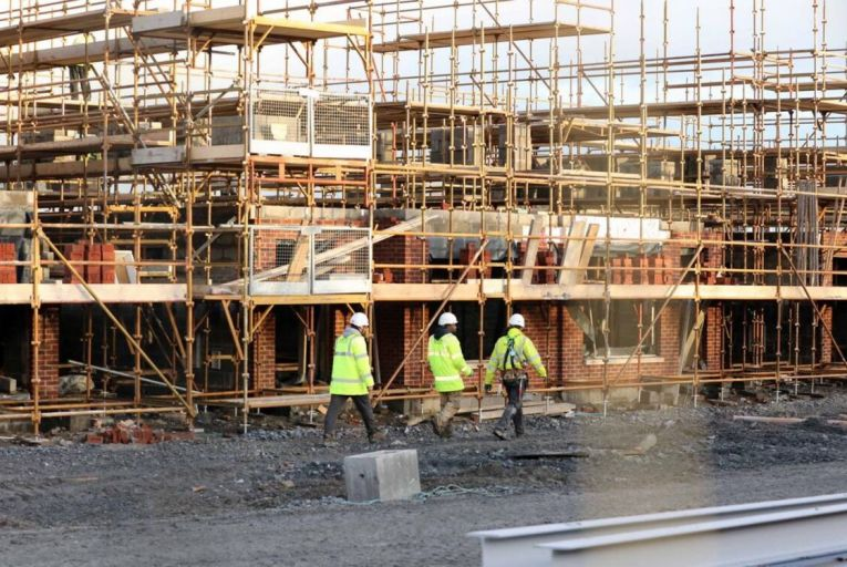 The rise in house prices has offset materials and labour inflationary impacts for Barratt Developments. Picture: Rollingnews.ie