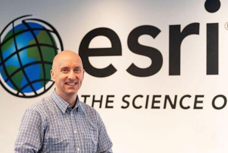 Eamonn Doyle, chief technology officer, Esri Ireland