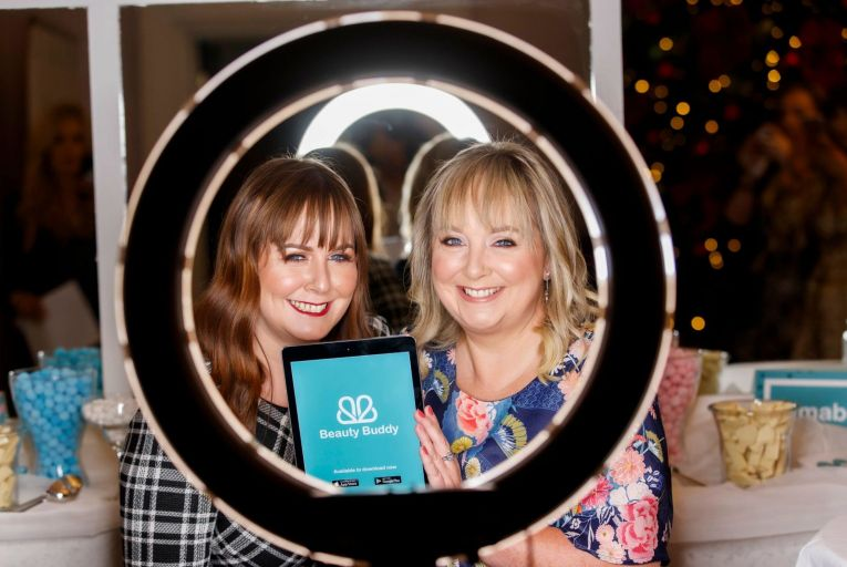 Wendy Slattery and Tracy Leavy, sisters and co-founders of Beauty Buddy. Picture: Andres Poveda