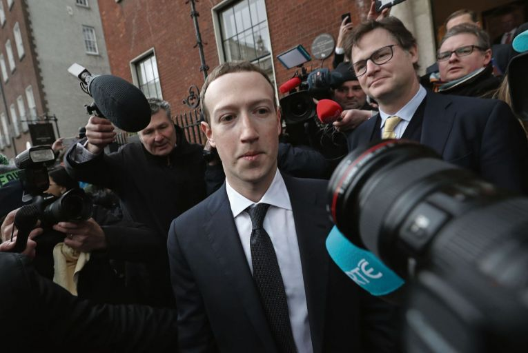 Mark Zuckerberg, chief executive of Facebook: firm is challenging the DPC's recommendation that data transfers to the US be suspended Picture: PA