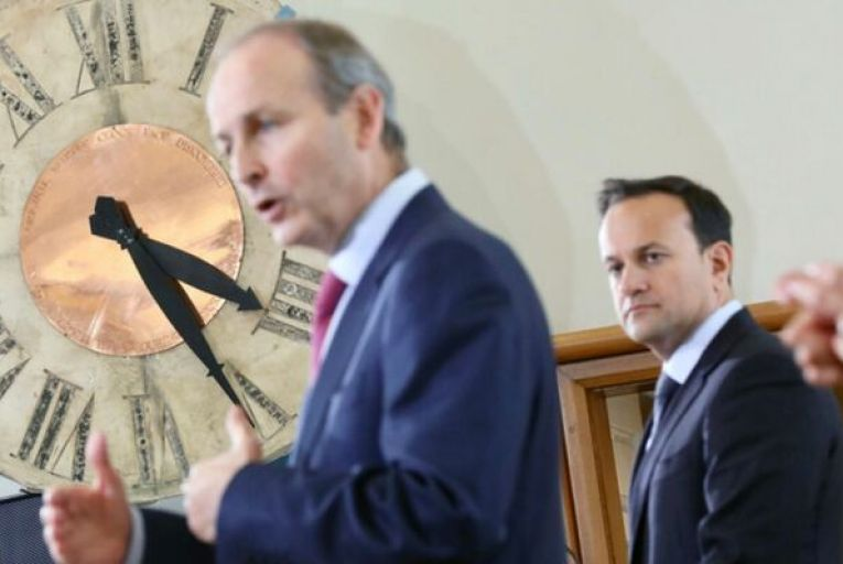Taoiseach Micheál Martin has indicated that a referendum is off the agenda for the next five years; two of his predecessors (Bertie Ahern and Leo Varadkar) argued that change should require more than a simple majority. Picture: Rollingnews.ie