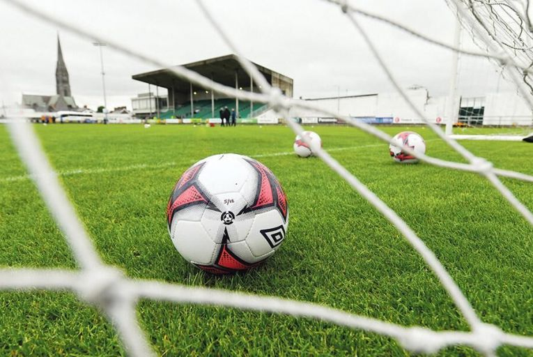 Limerick FC's home ground  Market's Field in Garryowen  Picture: Sportsfile