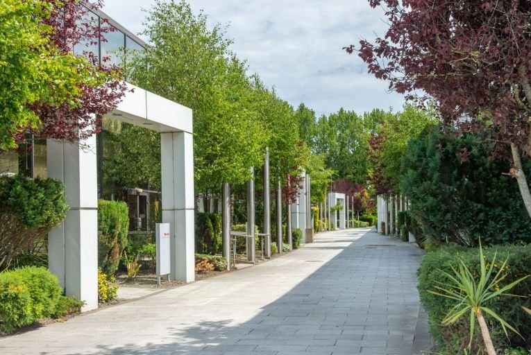 Swords Business Campus has been a major beneficiary of the move to lower density suburban space where staff have ample indoor and outdoor recreational space