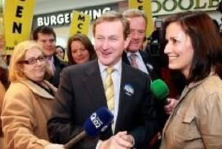 Labour/FF to target Kenny as Fine Gael races ahead