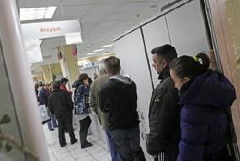 Greek unemployment rate hits 25.1 per cent