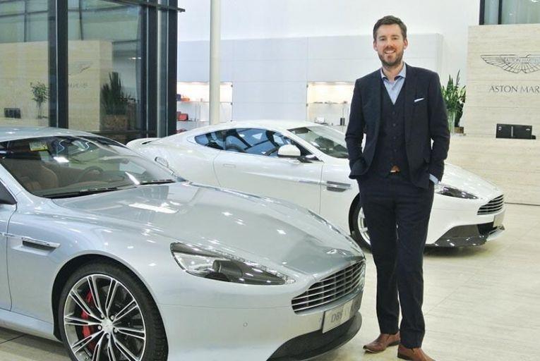 Dan Balmer, director of global marketing at Aston Martin