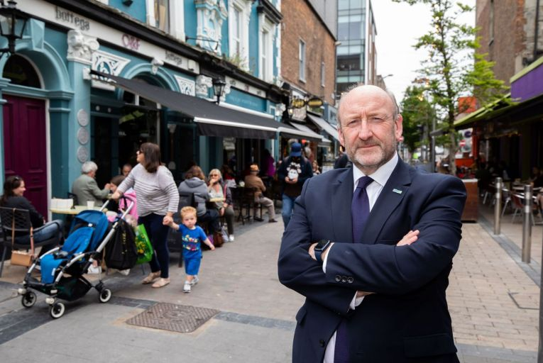 Pat Daly, chief executive of Limerick City and County Council: 'Our vision embraces inclusiveness and a high quality of life for all.' Picture: Alan Place