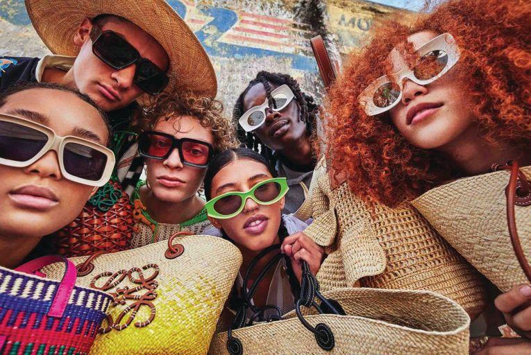 Bags of Style: Loewe Paula's Ibiza 2021 collection
