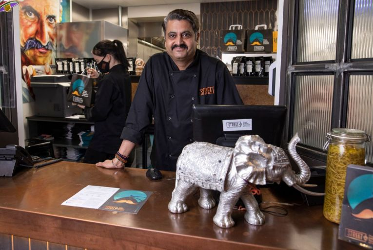 Sunil Ghai, owner of Street in Clonskeagh, Dublin 14. Picture: Fergal Phillips