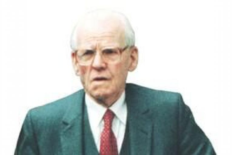 James Gogarty revealed how Burke was paid off by developers. Photo: Collins