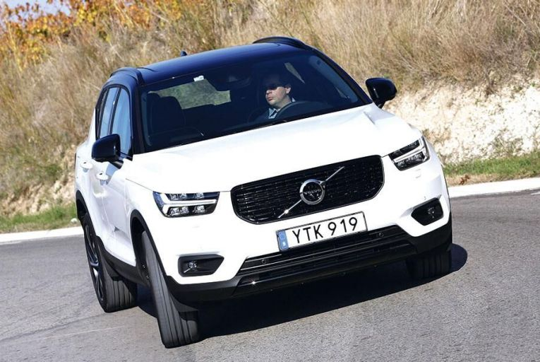 The new Volvo XC40 is safe  and impressive to drive