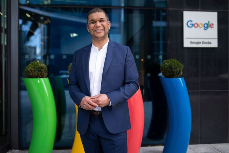 Sanj Bhayro, chief operating officer for Google's cloud business in Europe: 'A year from now we're going to see how hybrid working has manifested.' Photo: Fergal Phillips