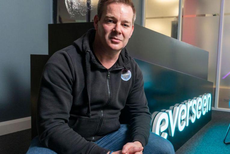 Alan O'Herlihy, Everseen founder: checkout technology Pic: John Allen