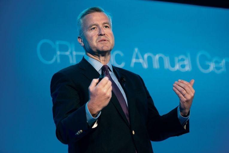 CRH coy on possible interim dividend for shareholders