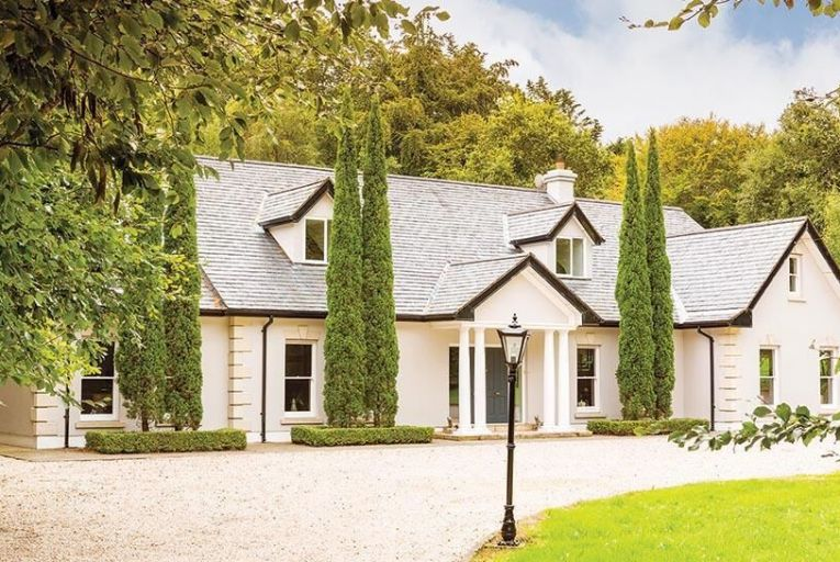 Robin Hill: Italian cypresses and Doric columns add elegance