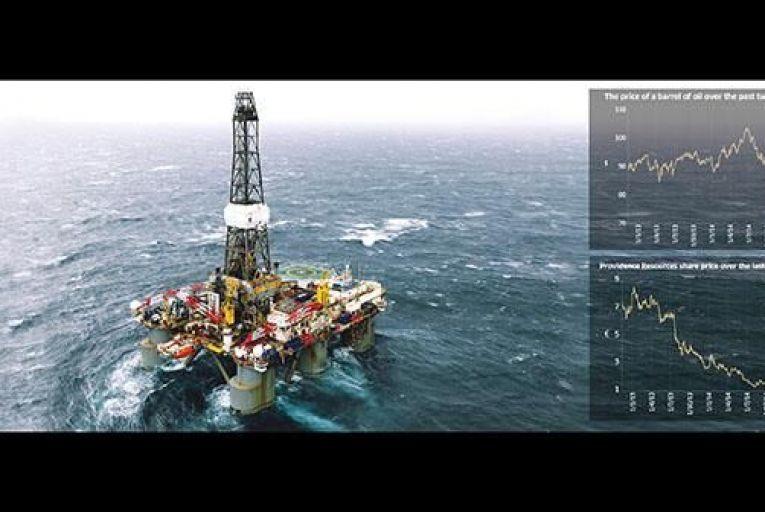 Irish oil hopes over a barrel