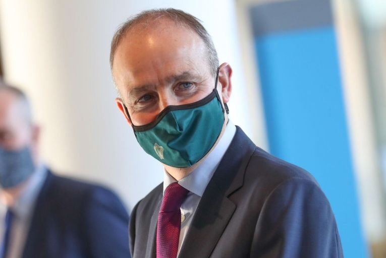 Taoiseach Micheál Martin's Fianna Fáil has slipped back again in this month's poll by three points to 13 per cent