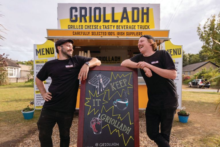 A good grilling: how a toastie food truck grew into a thriving business