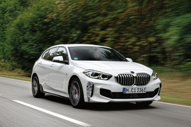 The BMW 128ti puts it right up to rival hot hatches such as the Volkswagen Golf GTI