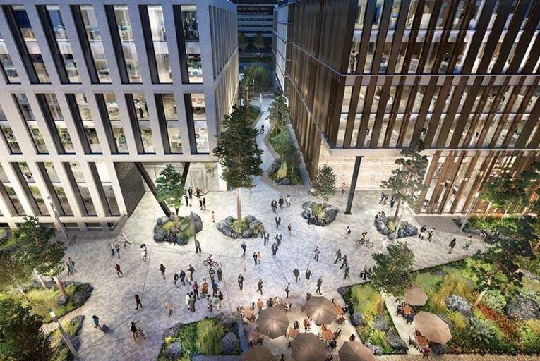 Dublin Landings: a 700m  mixed use development