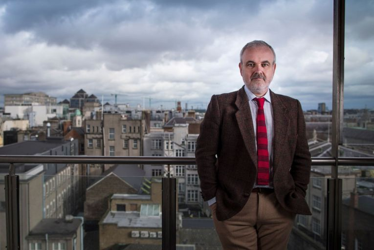 Colm O'Gorman, the chief executive of Amnesty Ireland, says the Covax scheme could only provide a 'fraction' of the doses needed to keep the pandemic at bay worldwide