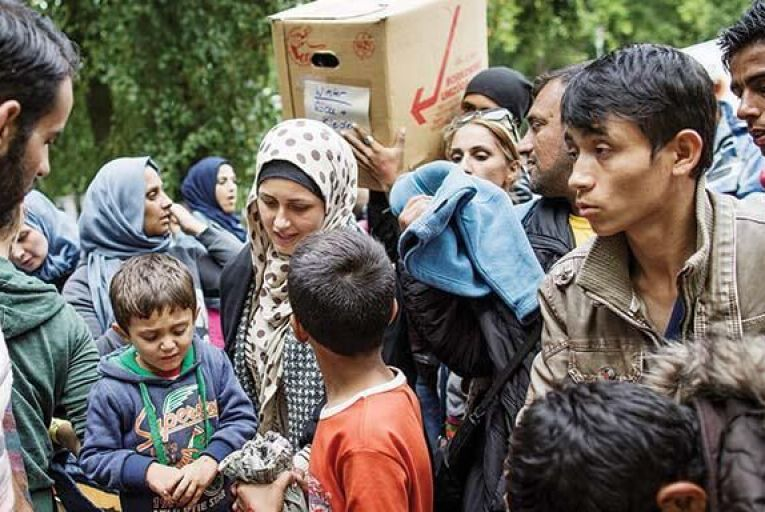 The sheer scale of the crisis in Syria  has yet to be realised by the EU  Picture: Getty