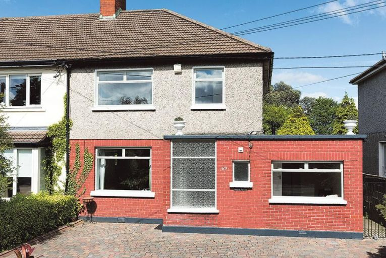 Three-bed family home on Goatstown Road with 100ft long garden