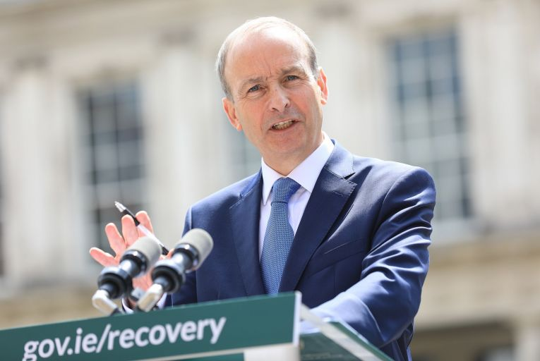 """Taoiseach Micheál Martin and the new social dialogue unit at his department have been meeting with various groups from the five """"pillars""""."""