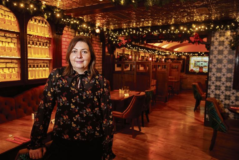 Eimear Killian, general manager of the Brasserie in Galway: 'People will need help going into the first six months of 2021.' Photo: Andrew Downes