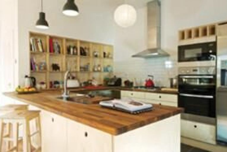 Spend as much as you can afford on worktops, because they are the surfaces which will take the most abuse.