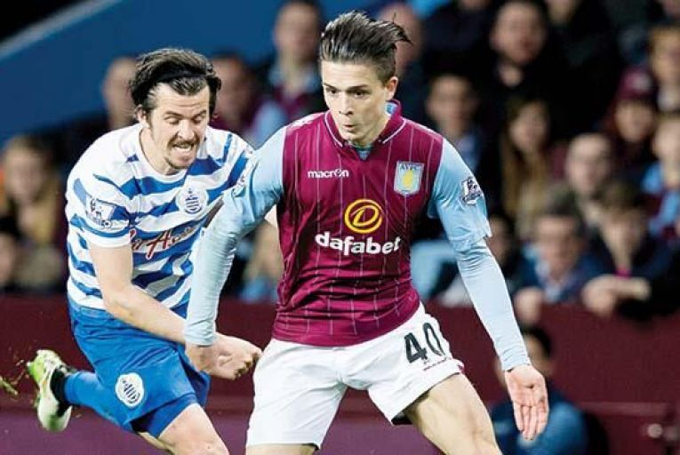 Jack Grealish of Aston Villa: currently one of the hottest properties in English football. Picture: Getty