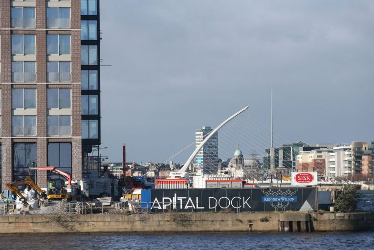 Kennedy Wilson demands Nama clean up derelict site close to near-empty Capital Dock