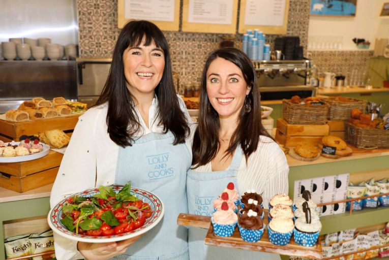 Sister in seventh heaven as Lolly and Cook's café chain expands
