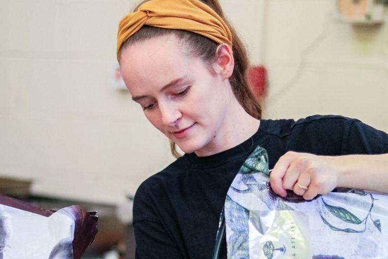 Anna Coffey Lynch, artisan chocolatier, has created a range of Christmas-inspired bars for her new company Braw