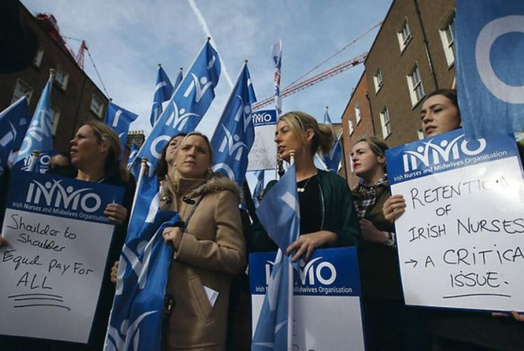 Nurses and midwives have been on the march for several years looking for better pay and conditions Rollingnews