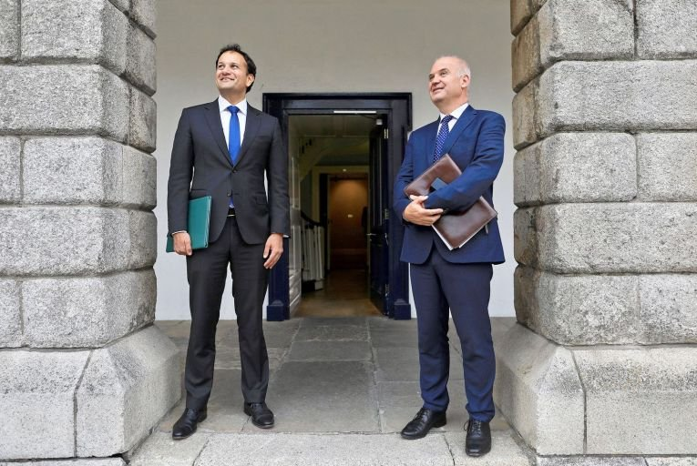 Leo Varadkar and Dr Tony Holohan: 'The opaque relationship between the government and Nphet and the practice of deferring to Nphet as a de facto decision-maker has in effect vested emergency statutory powers in a body of unelected officials.' Picture: Julien Behal