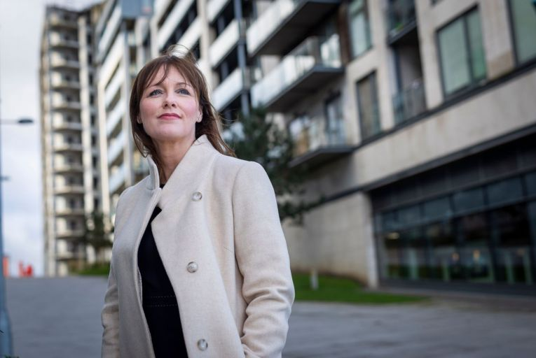 Marian Finnegan of Sherry FitzGerald: '30 per cent of our vendors are people selling their investment properties' Picture: Fergal Phillips