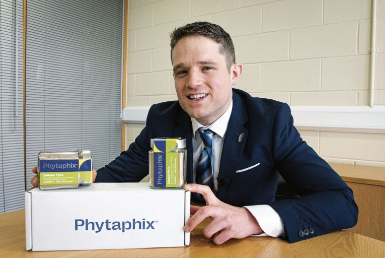 Conor Kerley's plant based supplement hit the market last October after more than a year in development