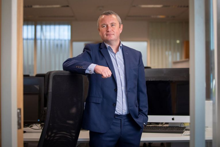 Declan Colfer, managing director of Wellington IT, wants to make credit unions appealing to Revolut users. Picture: Fergal Phillips