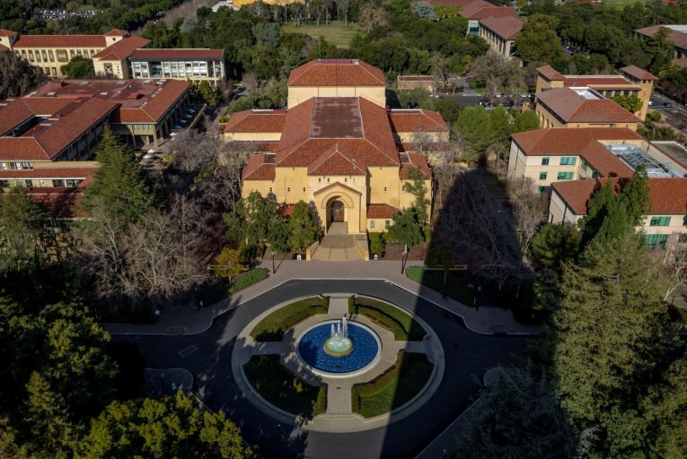 Stanford University in California is offering a mix of in-person and online classes, as well as spreading out its academic year so that fewer students will be on campus at any time