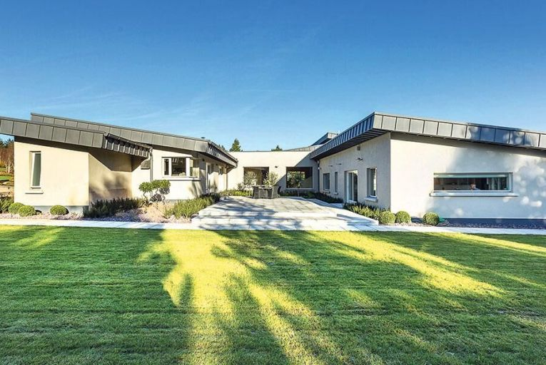 Rockwood in Barntown in Co Wexford is on the market for €975,000: the house has underfloor heating, solar panels, double-glazed windows and a built-in surround sound system